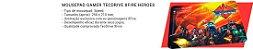COMBO G7 FURY TECLADO + HEADSET + MOUSE + MOUSEPAD - Imagem 6