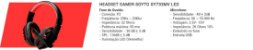 COMBO GAMER G7 RED MOUSE + TECLADO + HEADSET + MOUSEPAD - Imagem 2