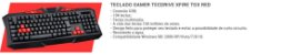 COMBO GAMER G7 RED MOUSE + TECLADO + HEADSET + MOUSEPAD - Imagem 4