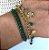 Pulseira Tear Dourada Verde - 24S - Imagem 1