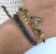 Pulseira Tear Dourada Azul - 24S - Imagem 1