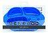 Prato Com Divisória E Sucção 4 Compartimentos Hipopótamo Marcus & Marcus - MNMKD36-HP - Imagem 3