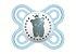 Chupeta Mam Perfect Start 0-2 Meses - Embalagem Dupla Azul - 2213 - Imagem 3