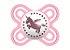 Chupeta Mam Perfect Stars 0-2 Meses - Embalagem Dupla Rosa - 2214 - Imagem 2