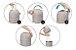 Lixeira Mágica Anti-Odor Branco Kababy - 11200B - Imagem 6