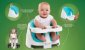 Cadeira De Alimentação Assento 2 Em 1 Ingenuity Baby Base - Pink Flambe - 11579 - Imagem 8