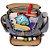 Bolsa Maternidade Grand Central Take It All Backpack Black White Stripes Skip Hop - 216101 - Imagem 2