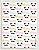 Papel Crepom Infantil 09 - Panda - 30 unid - Imagem 1