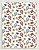 Papel Crepom Infantil 25 - Viagem de Balão - 30 unid - Imagem 1