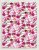 Papel Crepom Floral 07 - Cereja - 30 unid - Imagem 1