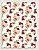 Papel Crepom Floral 08 - Marsala - 30 unid - Imagem 1