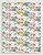 Papel Crepom Floral 09 - Beija-flor - 30 unid - Imagem 1