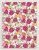 Papel Crepom Floral 10 - Multicor - 30 unid - Imagem 1