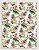 Papel Crepom Floral 11 - Tropical - 30 unid - Imagem 1