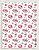 Papel Crepom Floral 15 - Marsala - 30 unid - Imagem 1