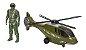 Helicóptero Resgate com Boneco 323 Bs Toys - Imagem 4