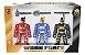 Bonecos Work Force Conjunto 467 - Bs toys - Imagem 1