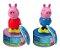 Doce Bala e Cofrinho Peppa Pig - DTC - Imagem 1
