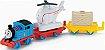Thomas E Seus Amigos - Trackmaster Thomas E Harold Gira-Gira - Mattel - Imagem 1