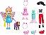 Polly Pocket Kit Cachorro Fantasias Mattel - Imagem 1