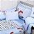 Jogo De Berço Filhotes Azul Minasrey- Infantil  - Imagem 1