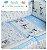 Jogo De Berço Disney Azul Minasrey- Infantil  - Imagem 1