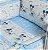 Protetor De Berço Disney Azul Minasrey- Infantil - Imagem 1