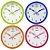 Relógio de Parede Redondo  Sortido - Imporiente - Imagem 1