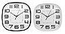 Relógio de Parede Quadrado   - Imporiente - Imagem 1