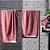 Toalha De Rosto Contemporânea Laranja Com Vermelho 50 cm x 80 cm Altenburg - Imagem 1