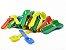 Pazinha Plástica Colorida Pacote com 1.000 Und - Imagem 1