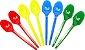 Colher de Sobremesa Colorida C/1.000unid - Imagem 1