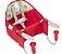 Tutti Baby Cadeira Papa 01005 Cor Vermelho - Imagem 1