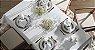 Toalha de Mesa Sienna Branca Quadrada 8 Lugares - Karsten  - Imagem 1