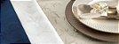 Toalha de Mesa Verissimo Branca Retangular 6 Lugares - Karsten  - Imagem 2