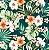 Aquatec 102779 Floral Fundo Petroleo - Imagem 1