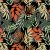 Aquatec 052782 Estampado Floral Preto - Imagem 1
