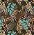 Aquatec 052782 Estampado Floral Marrom - Imagem 1
