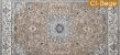 Tapete Via Star Coleção Gama CI Bege - 3,00 X 2,00 - Imagem 1