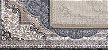 Tapete Via Star Coleção Palace 7085 Grey - 1,00 x 1,40 - Imagem 2