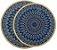 kit Descanso p/ Panela 2 peças - Azul Roial - Kacyumara - Imagem 1