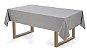 Toalha de mesa Retangular 12 lugares Celebration Veríssimo - Granizo - Karsten  - Imagem 1