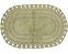 Tapete Oval de Croche 60X90 - Fendi - Kacyumara - Imagem 1