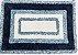 Tapete Microfibra 50X85 - Azul - Kacyumara - Imagem 2