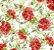 Karsten Decor Acquablock Maracaibe Vermelho Floral - Imagem 1