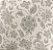 Tecido Estampado Verona - Floral Cinza 3625567 - Imagem 1