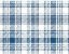 Linho Florata - Cor Xadrex Azul 022741 - Imagem 1