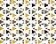 Linho Florata - Geometrico Cinza/Verde 062740 - Imagem 1