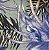Tecido Estampado Parise - Amazônia Azul Marinho - Imagem 1