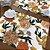 Sousplat Linho Florata - Floral Mostarda - Imagem 1